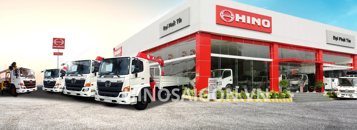 Hinosaigon.vn – Đại lý cấp 1 chuyên xe tải Hino uy tín tại TP.HCM