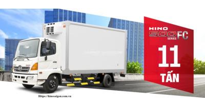 Hino chính thức ra mắt xe tải FC series 500 tổng trọng tải 11.000 kg