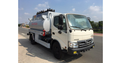 Hino dutro WU342L bồn chở xăng dầu 6 khối