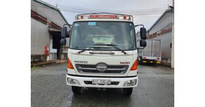 Hino FC9JLSW thùng mui bạt full inox 304