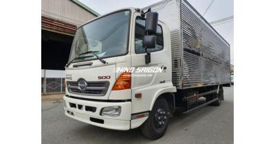 Hino FC9JLTC thùng kín tải chở 6.400 kg