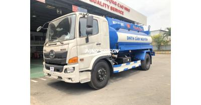 Hino FG8JJ7A bồn chở xăng dầu 11 khối