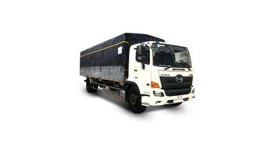 Hino FG8JT7A thùng bạt inox tải trọng 7.7 tấn