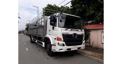 Hino FG8JT7A thùng bửng nâng tải trọng 8 tấn