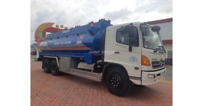Hino FL8JPSB bồn chở xăng dầu 18 khối