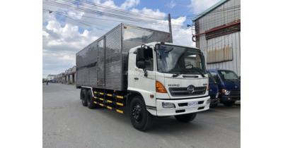 Hino FL8JPSL Euro 2 thùng kín tải trọng 15 tấn
