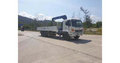 Hino FL8JPSL gắn cẩu Tanado 5 tấn cũ
