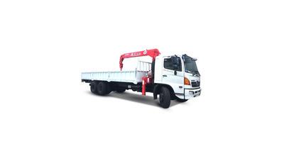 Hino FL8JPSL gắn cẩu unic URV634 tải trọng 13.5 tấn