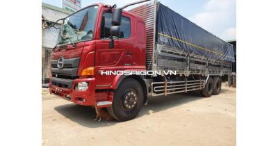 Hino FL8JW7A Mui Bạt Full Inox 304 tải chở 14.850kg
