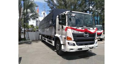 Hino FL8JW7A thùng mui bạt nhôm tải 14.3 tấn