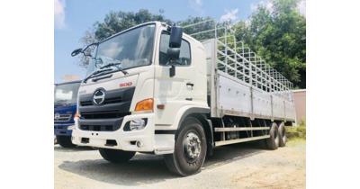 Hino FL8JW7A thùng mui bạt nhôm tải trọng 14.300 kg