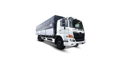 Hino FM8JW7A thùng bạt tải trọng 13.8 tấn