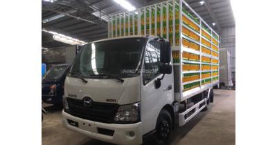 Hino XZU720L chở gia cầm tải trọng 3.5 tấn