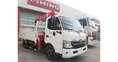 Hino XZU720L gắn cẩu Unic URV344