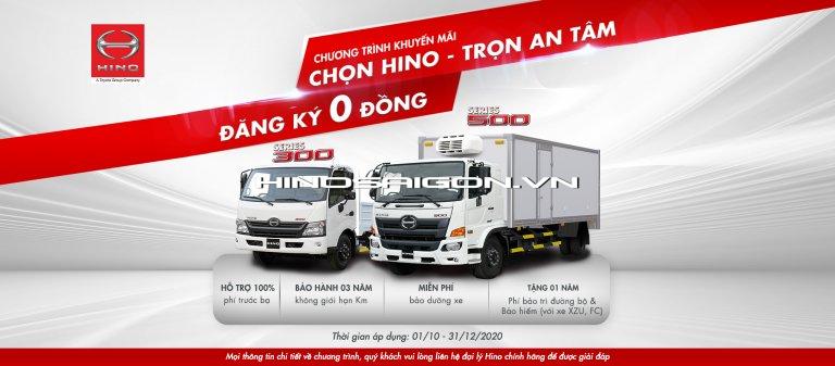 Hinosaigon.vn - Cập nhật chương trình hỗ trợ thuế trước bạ 100% cho quý khách hàng trước 31/12/2020
