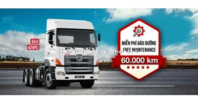 Hinosaigon.vn Giới thiệu Đầu kéo HINO SS2P-406 lựa chọn tối ưu cho doanh nghiệp vận tải !