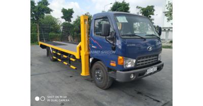 Hyundai HD120SL 8 chở xe cơ giới