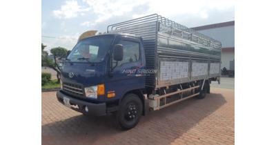 Hyundai HD120SL 8 tấn chở gia súc
