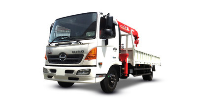 Hino FC9JLTC gắn cẩu unic URV344 tải trọng 5.2 tấn