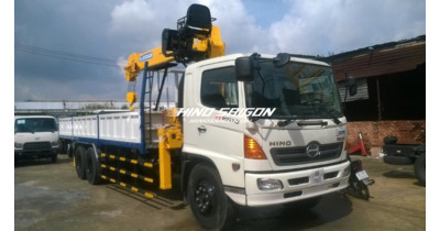 Xe tải hino FL8JTSL ga cơ gắn cẩu Soosan SCS746Ls ( 8 tấn )